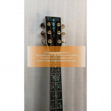 Chinese Custom Martin D45 Deluxe Abalone Inlay Guitar