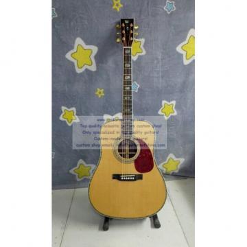 Custom solid martin copy guitar d-45 standard series