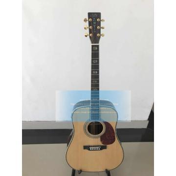 Custom Solid Wood Martin D45 Acoustic Electric Standard Series Guitar
