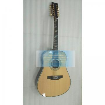 Custom solid wood Martin d45 12 string acoustic guitar