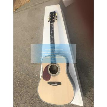 Custom chinese Martin d-45 left-handed acoustic guitar