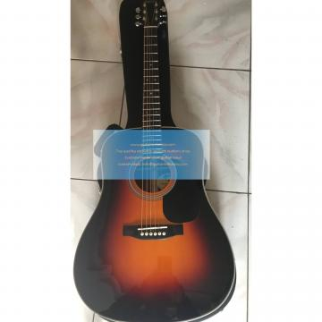 Custom Martin d-28 guitar sunburst for sale