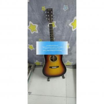 Sale Custom Solid Sunburst Martin D28 Standard Series Guitar