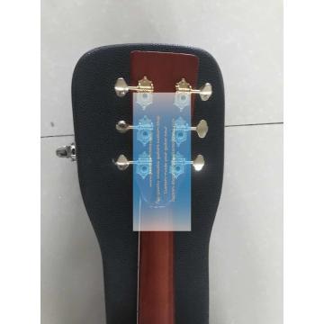 Custom lefty dreadnought acoustic electric Martin D-42 guitar
