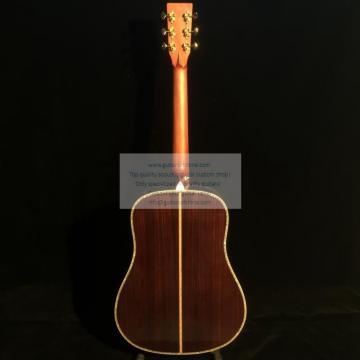 Custom left-handed Martin d45ss acoustic guitar