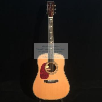 Custom lefty Martin d-45 acoustic-electric guitar natural