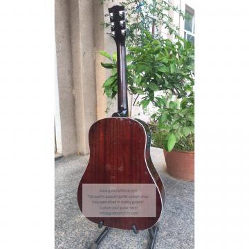 Sale custom Chibson j-45 acoustic guitar sunburst