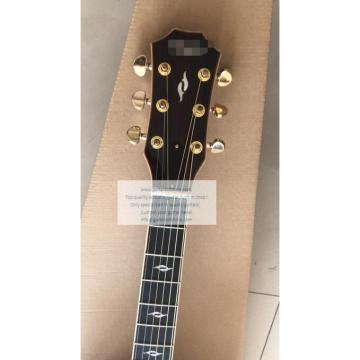Custom Left-handed Chataylor 814ce acoustic guitar