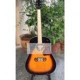 Sale custom Chibson j-45 acoustic guitar sunburst